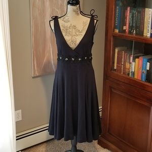 Free people open back summer dress